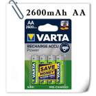Аккумуляторы VARTA RECHARGE ACCU Power 2600mAh