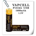 Аккумулятор Vapcell 1800mAh Li-ION 1.5v