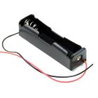 Батарейный отсек (держатель батарей) 1x18650 с проводами