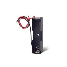 Батарейный отсек (держатель батарей) 1xAA с проводами