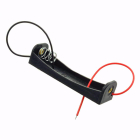 Батарейный отсек (держатель батарей) 1xAA с проводами /открытого вида/