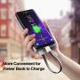 Кабель-брелок USB - micro USB 0,15м