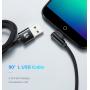 Кабель USB - micro USB FLOVEME 1м с угловым разъемом