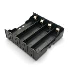 Батарейный отсек (держатель батарей) 4x18650 с контактами для пайки