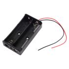 Батарейный отсек (держатель батарей) 2x18650 с проводами