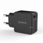 Сетевое зарядное устройство с USB выходом ORICO QCW-1U