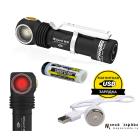 Armytek Wizard WR Magnet USB+18650 /теплый-красный свет/