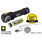 Armytek Wizard Pro v3 Magnet USB+18650 /теплый свет/